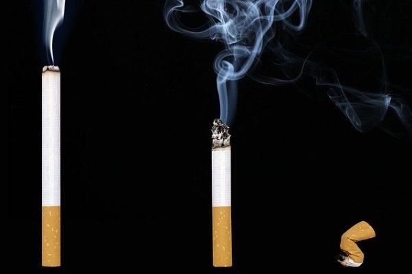 Zigarette ausmachen